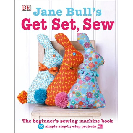 Jane Bull's Get Set, Sew Jane Bull's Get Set, Sew is a beginner's guide to mastering your sewing machine with 20 easy projects. The latest in Jane Bull's successful series of craft titles, Jane Bull's Get Set, Sew is a clear, fresh, enjoyable introduction to sewing on a machine. Jane's friendly, jargon-free instructions and step-by-step photos will walk you through everything you need to know to learn how to use a sewing machine. Master sewing machine basics one at a time, then put newly learned skills to work with 20 simple sewing projects to make -- including creative and original bags, accessories, cushions, and toys. Jane Bull's Get Set, Sew includes templates, sewing patterns, and everything you need to make your first sewing projects and lay the groundwork for countless creative fabric crafts to come.