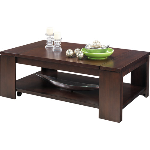 Walmart Coffee Tables: Waverly Lift Top Coffee Table, Vintage Walnut