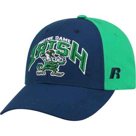 Men's Navy/Green Notre Dame Fighting Irish Tastic Adjustable Hat - OSFA