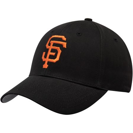 San Francisco Giants Fan Favorite Basic Adjustable Hat - Black - - San Francisco Giants Corkscrew