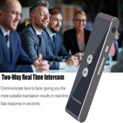 Portable Smart Two-Way Real Time Multi-Language Voice Translator for Learning Travel Meeting, Translator Portable, Language Translator