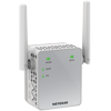 NETGEAR AC750 WiFi Range Extender (EX3700-100PAS) NETGEAR AC750 WiFi Range Extender Essentials Edition boosts your existing network range and speed, delivering AC dual-band WiFi up to 750Mbps. It works with any standard WiFi router and is ideal for HD video streaming and gaming. Get the connectivity you need for Apple iPads, smartphones, laptops and more.