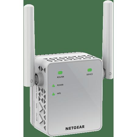 NETGEAR - EX3700 AC750 WiFi Wall Plug Range Extender and Signal Booster