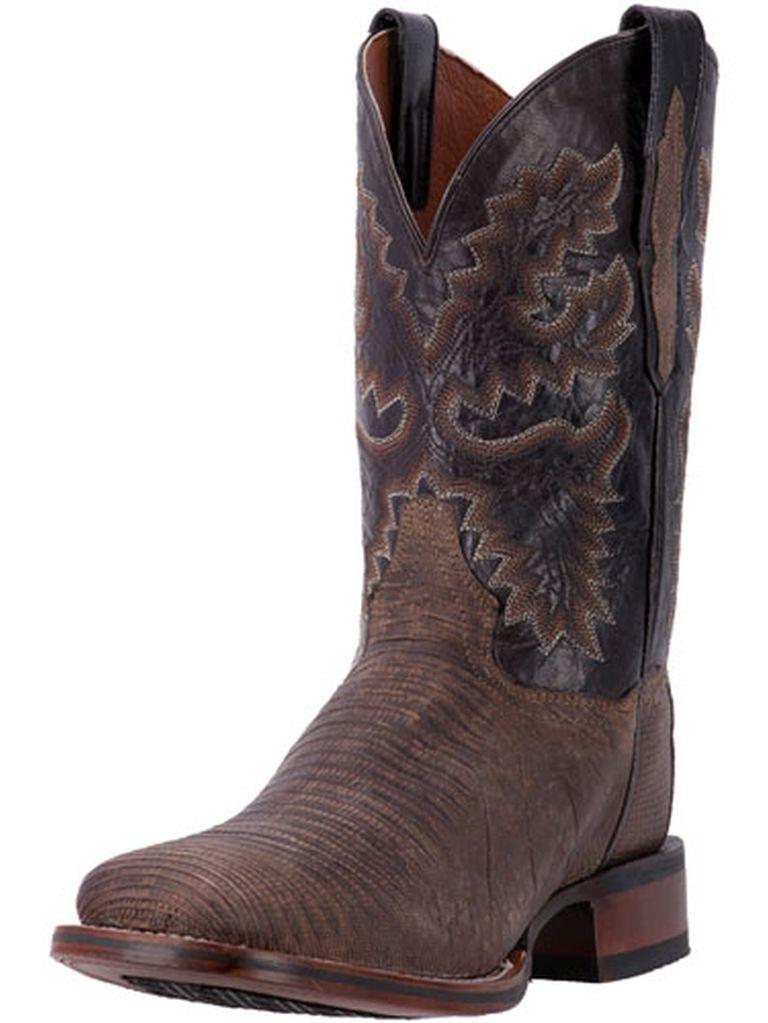 """Dan Post Western Boot Men 11"""" Hurst Orthotic Stockman Brown DP3878 by Dan Post"""