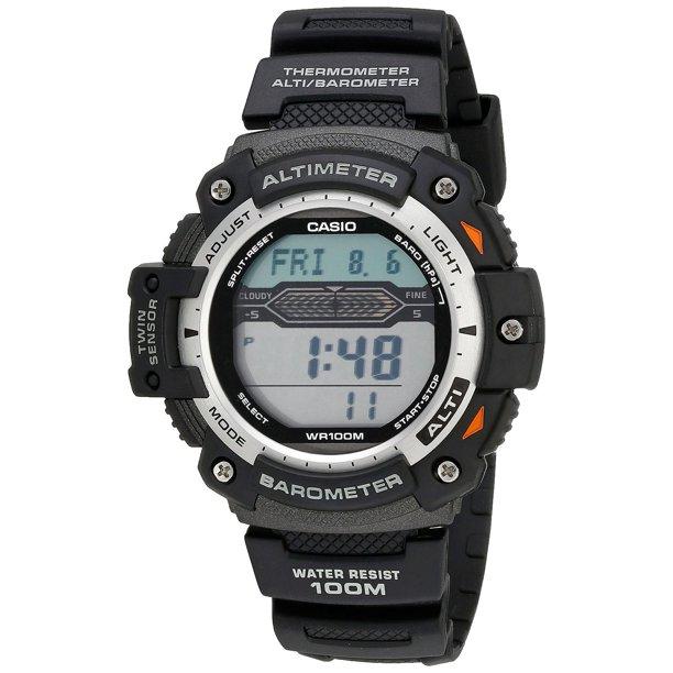 Men's SGW300H-1AVCF Twin Sensor Multi-Function Digital Sport Watch