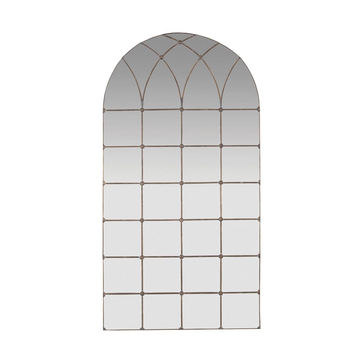 Gilded Arch Floor Mirror Walmart Com Walmart Com