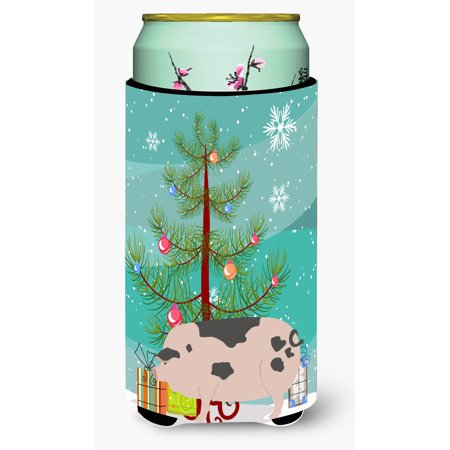 Gloucester Old Spot Pig Christmas Tall Boy Beverage Insulator Hugger BB9307TBC