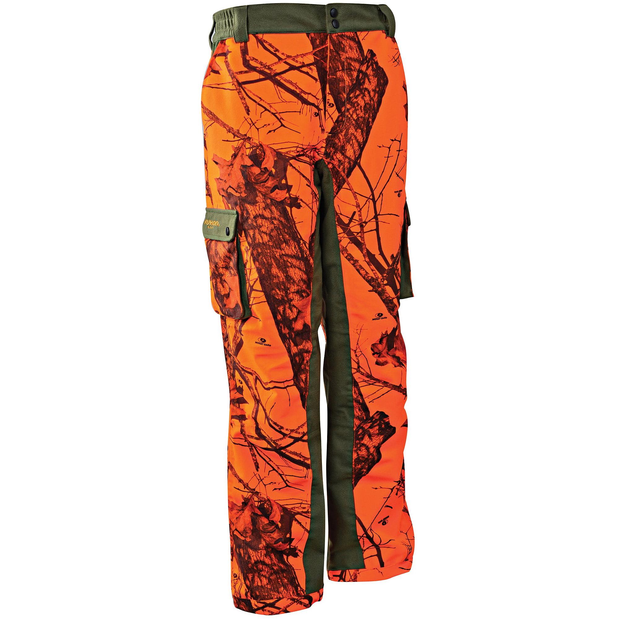 Yukon Gear Men's Scent Factor Pants, Break Up Blaze/Forest Green Accents