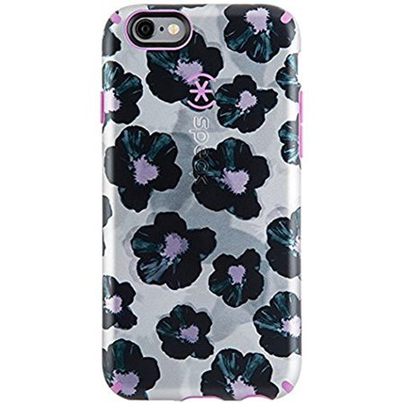 official photos d3fa1 13b15 Speck CandyShell Inked iPhone 6/6S Plus Case - Platinum Posies, Orchid  Purple