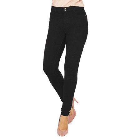 Black Authentic Frankie Skinny Fit Jeans for $<!---->