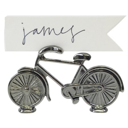 Just Artifacts Bicycle Place Card Holder - Perfect Name Card Organizer for Weddings, Bridal Parties, and Home Decor.