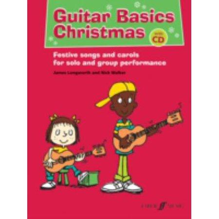 James Taylor Guitar Tabs (Guitar Basics Christmas (Easy Tab with Free Audio CD) (Paperback))