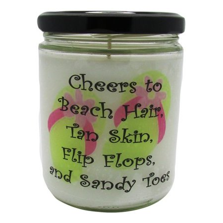 "Star Hollow Candle Company ""Cheers."" Ocean Breeze Jar Candle"