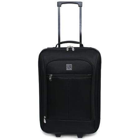 Protege Pilot Case Carry-On Suitcase, 18 (Walmart (Travel Bug)