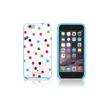 more photos 8ca68 3a4ed Kate Spade NY Hybrid Hardshell Case for iPhone 6 Plus / 6S Plus - Ikat Dot  Design