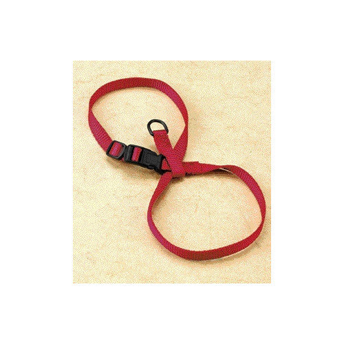 Hamilton Pet CHEA LGRD Large Adjustable Figure-Eight Cat/Pup Harness, Red