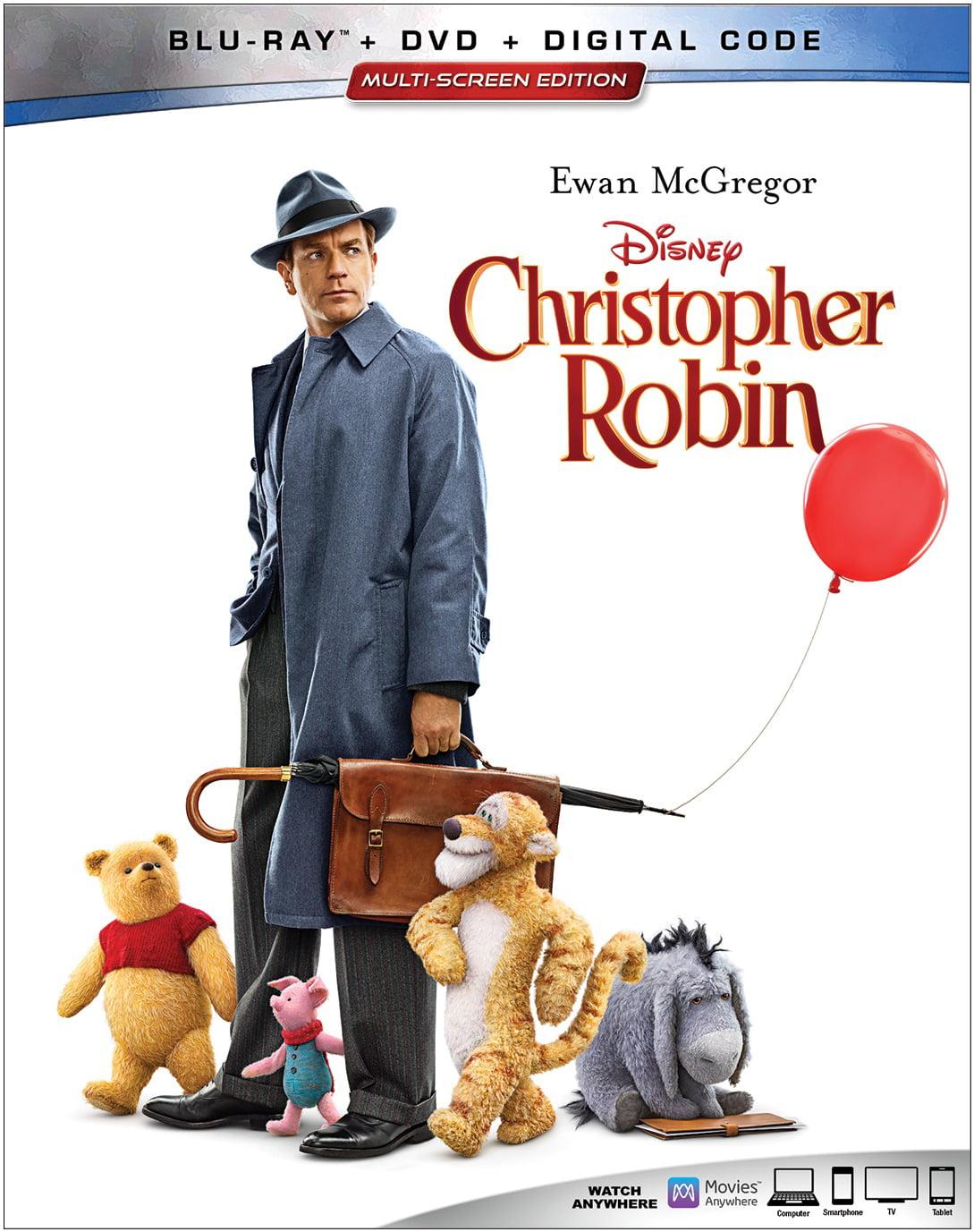 Christopher Robin (Blu-ray + DVD + Digital)