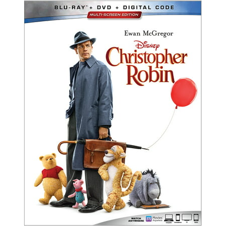 Christopher Robin (Blu-ray + DVD + Digital)