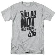 Fight Club - Rule 1 - Short Sleeve Shirt - XX-Large
