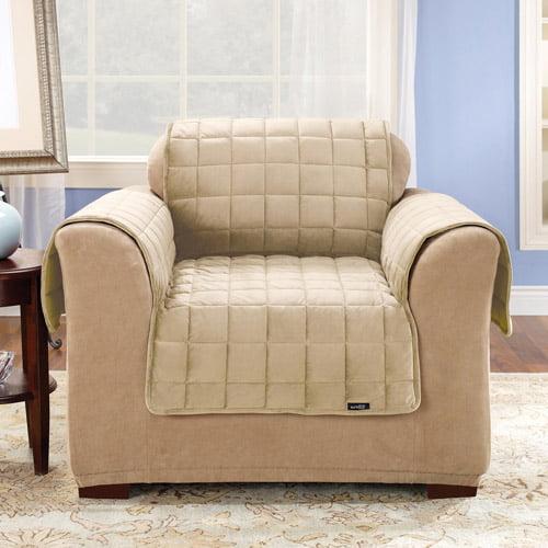 Sure Fit Deluxe Pet Chair Cover Walmartcom