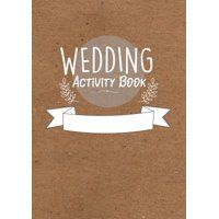 Childrens Wedding Activity Book- Kids Wedding Activities