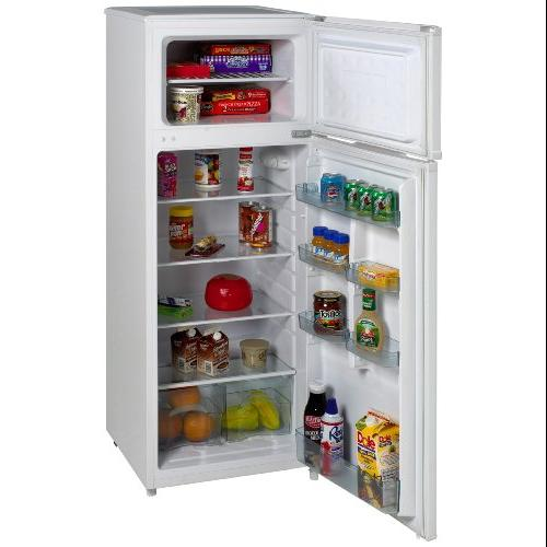 Avanti Model Ra7306wt - 7.4 Cf Two Door Apartment Size Refrigerator - White - 7.40 Ft - Cycle Defrost - White (ra7306wt)