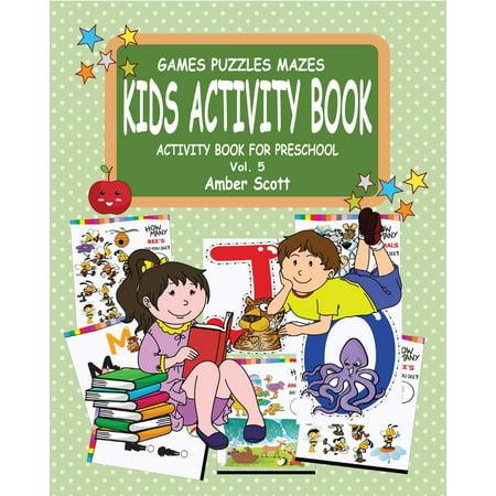 Kids Activity Book ( Activity Book for Preschool)- Vol.5