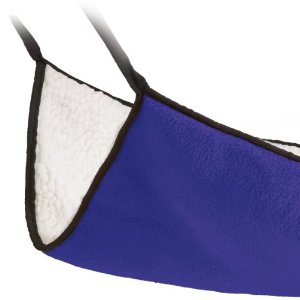 Ware Double Fleece Hang-N-Hammock Small Pet Sleeper, Jumbo (Colors may vary) Multi-Colored