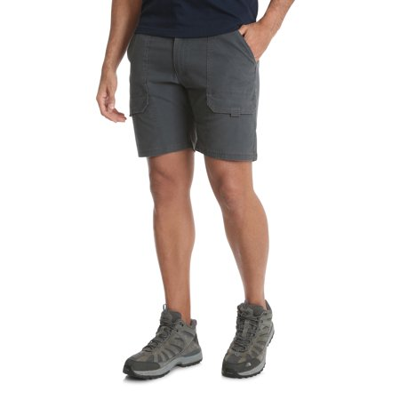 Wrangler Men's Outdoor Back Elastic Stretch Hiker - Wrangler Indigo Shorts