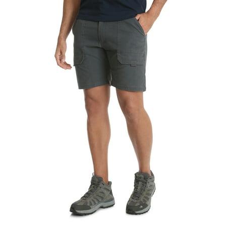 Back Zip Linen Shorts (Wrangler Men's Outdoor Back Elastic Stretch Hiker Short)