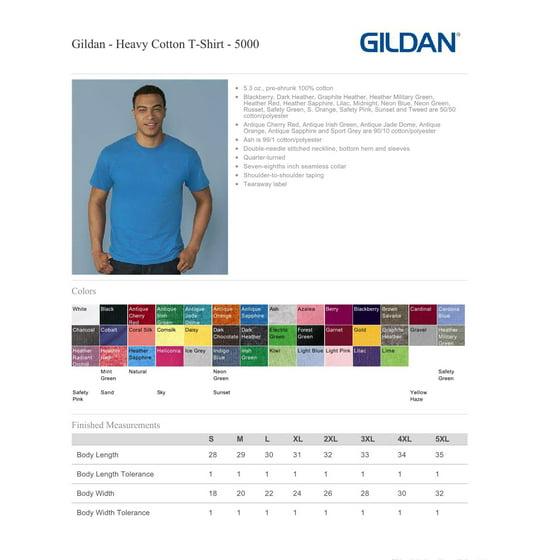 Gildan 5000 Heavy Cotton Men's T-Shirt -Brown Savana-Large