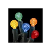 Christmas at Winterland S-70G125M-4G 23 Foot String of G12 Globe Multicolor LED