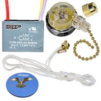 Fan replacement parts and accessories walmart walmart hqrp kit ceiling fan capacitor cbb61 15uf25uf 3 wire and 3 keyboard keysfo Gallery