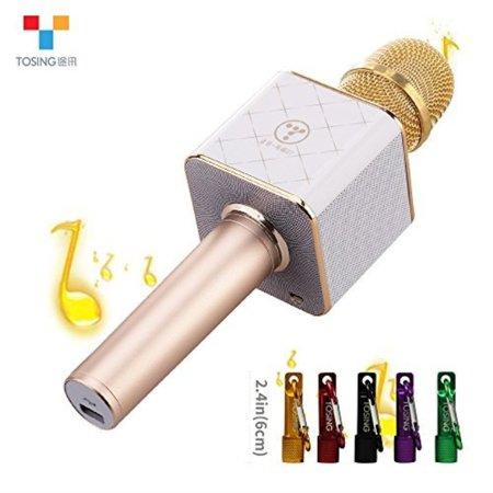 TOSING Q7 Wireless Karaoke Microphone Bluetooth Speaker 2in1