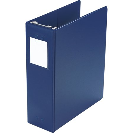 Wilson Jones, WLJ36549BL, Large Capacity D-ring Hanging Binder, 1 Each, Blue (Capacity Hanging Vinyl Post Binder)