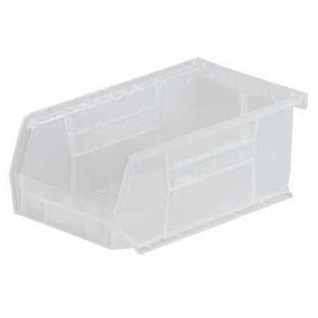 - Akro-Mils 10 Lb Capacity, Hang and Stack Bin, Clear 30220SCLAR