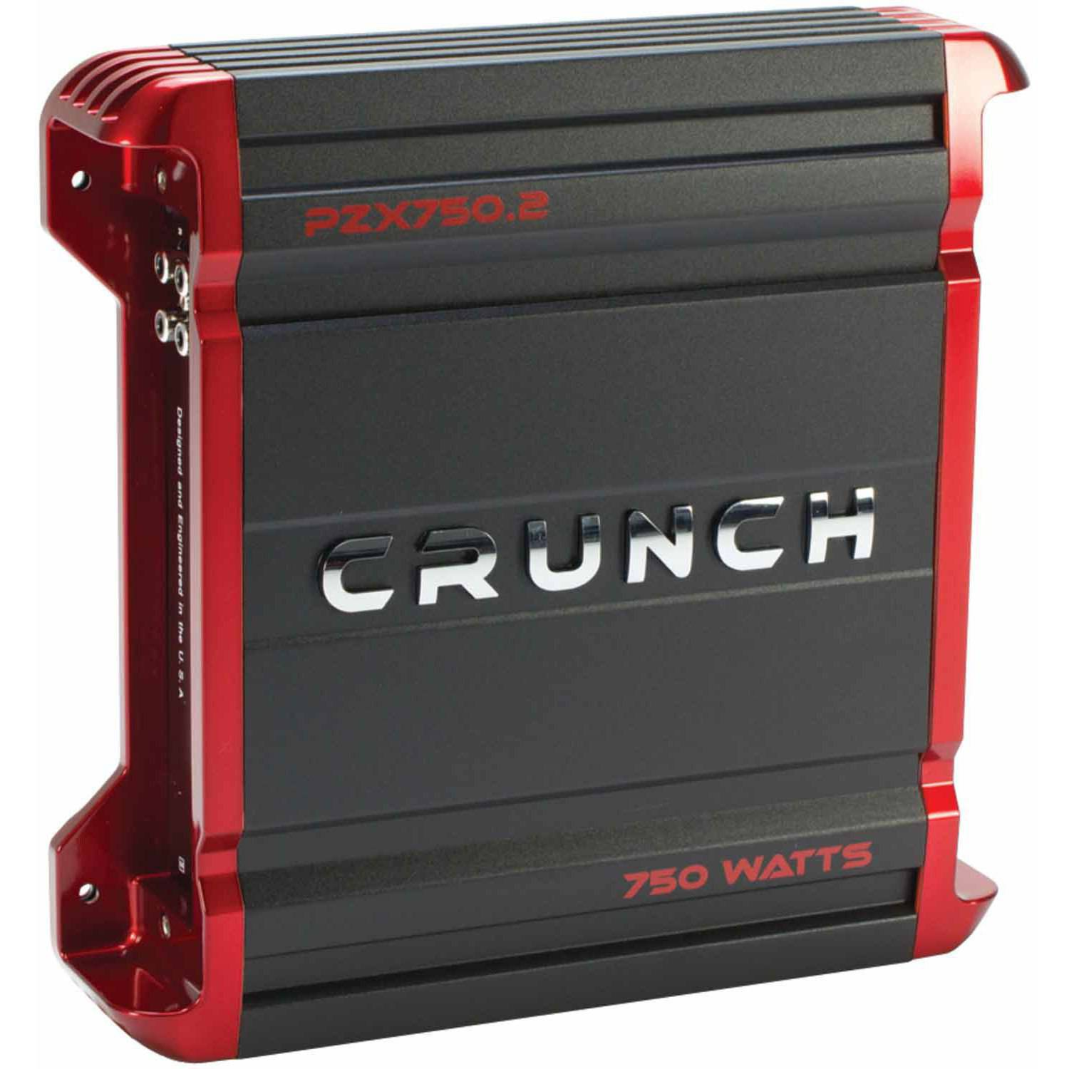 Crunch PZX750.2 POWERZONE 2-Channel Class AB Amp