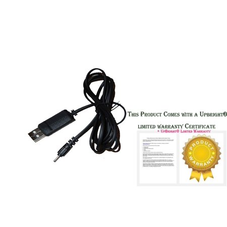 UPBRIGHT NEW USB Charging Cable PC Laptop Charger Power Cord For Hipstreet 10DTB37-32GB W10 Pro 10 INCH Windows PC