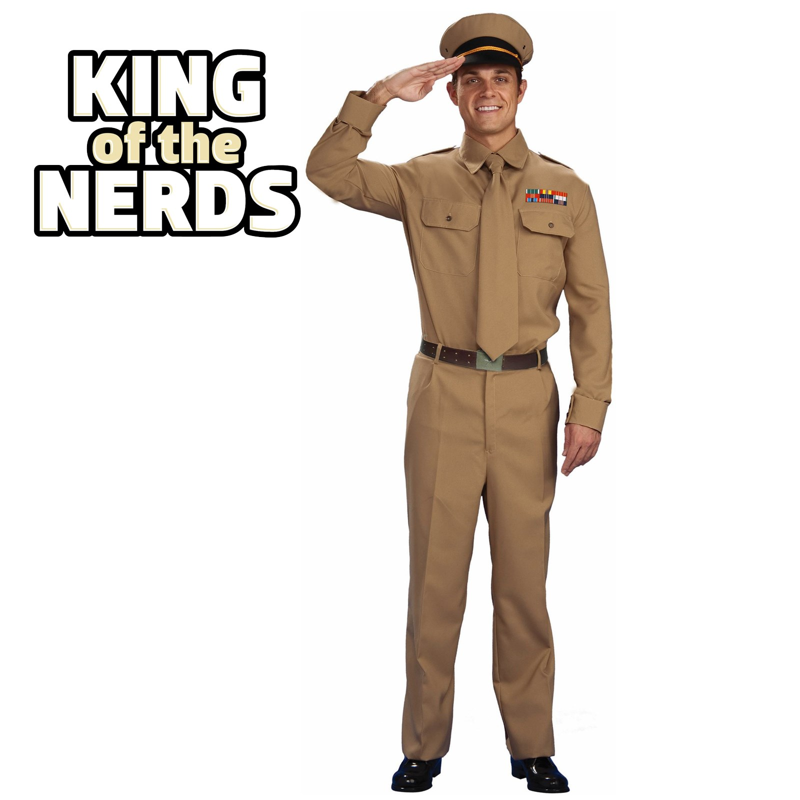 World War II General Adult Costume