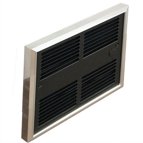 TPI Low Profile 6,826 BTU Wall Insert Electric Fan Heater with Wall Box