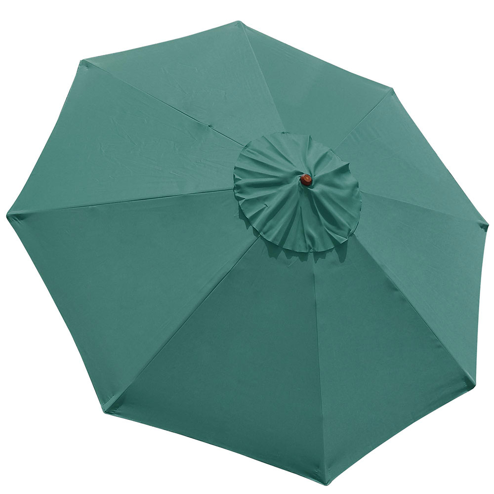 9' 8 Ribs Umbrella Canopy Replacement Patio Top Cover Market Outdoor