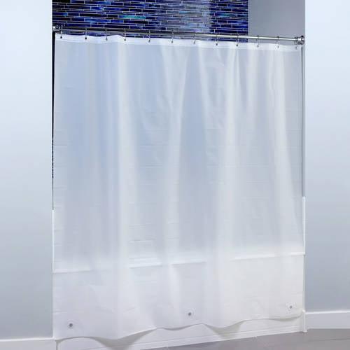SlipX Solutions 70 in. x 72 in. Heavyweight PEVA Shower Liner