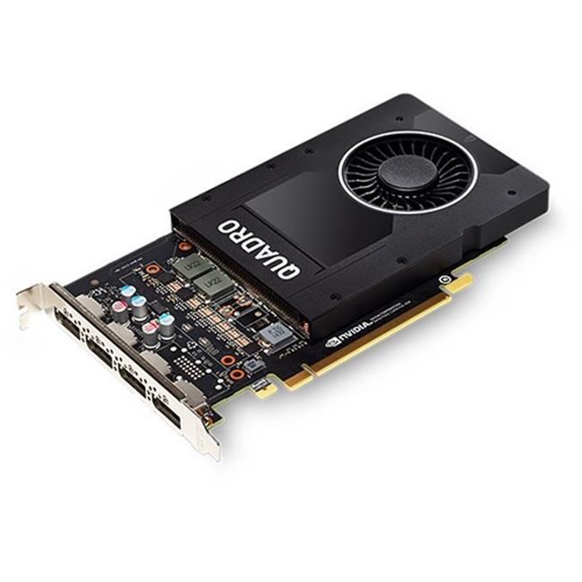 PNY Technology VCQP2000-PB Video Card NVIDIA Quadro P2000 PCI Express Display Port 1.4 1024 CUDA Cores by PNY