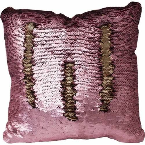 Posh Home Sequined Mermaid Decorative Pillow