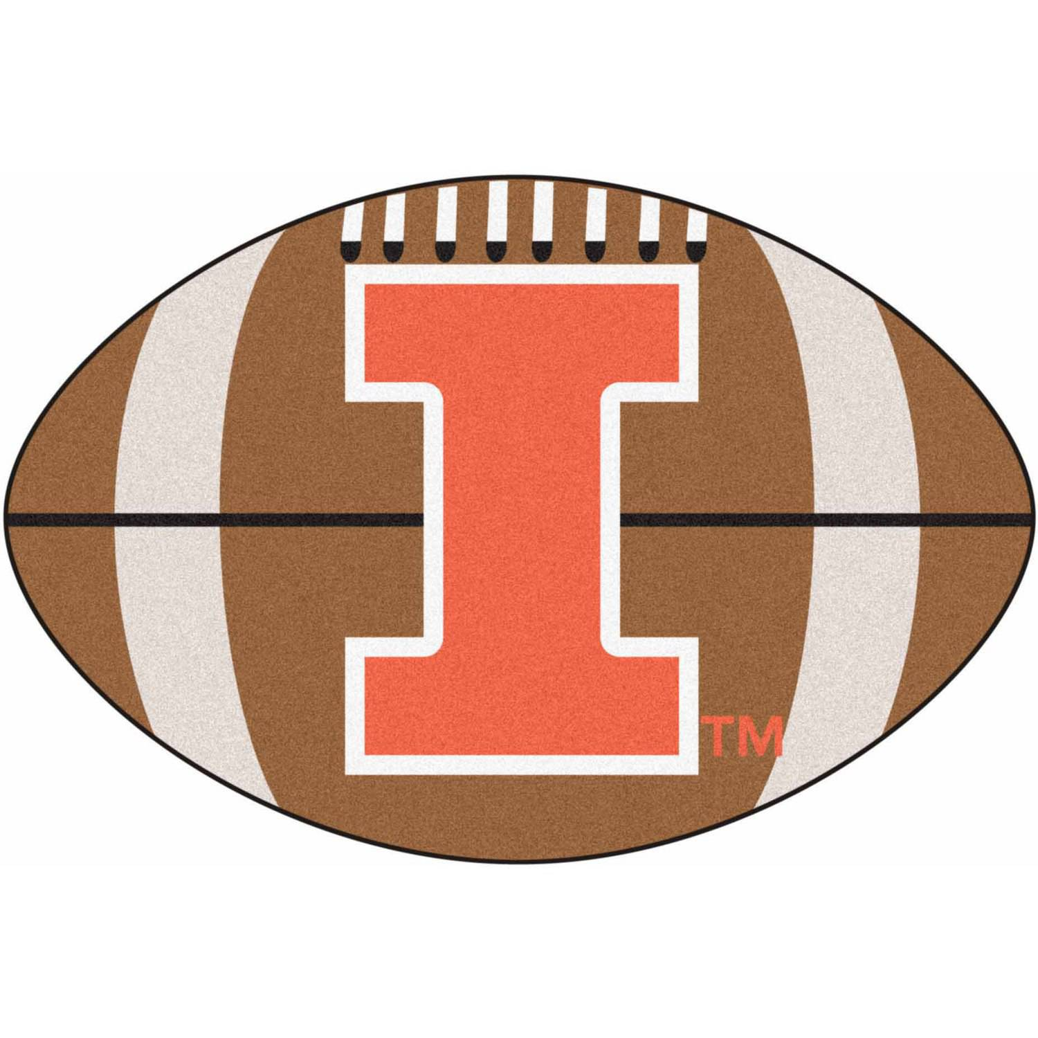 University of Illinois Football Mat