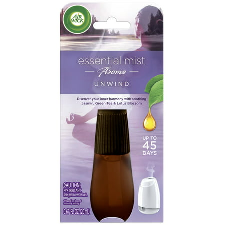 Essential Mist Aromatherapy Unwind Refill - 1ct