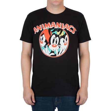 Big Men's Distressed Animaniacs Graphic Tee