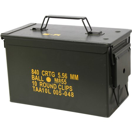 .50 Cal. Metal Ammo Can - Original US Military Surplus Used M2A1 thumbnail