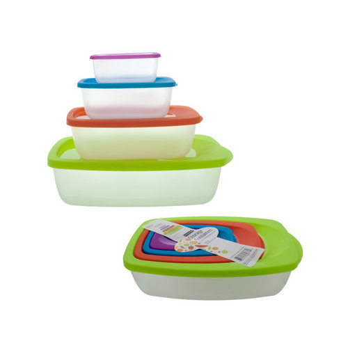 Bulk Buys OC183 8Pc Set Storage Containers Case of 24