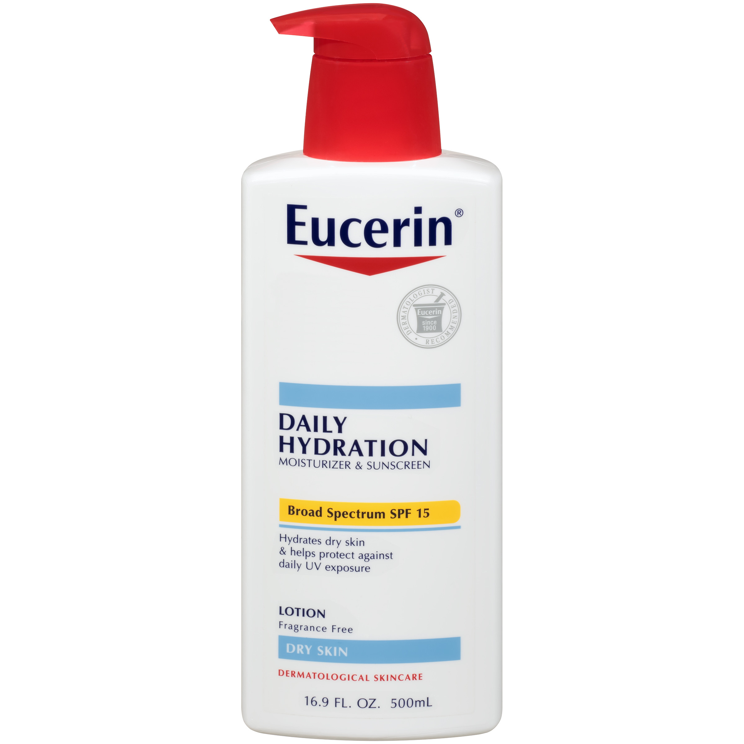 Eucerin Daily Hydration Broad Spectrum SPF 15 Body Lotion 16.9 fl. oz.